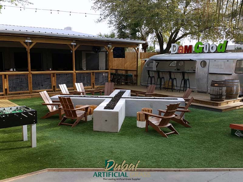 Restaurant Artificial Grass