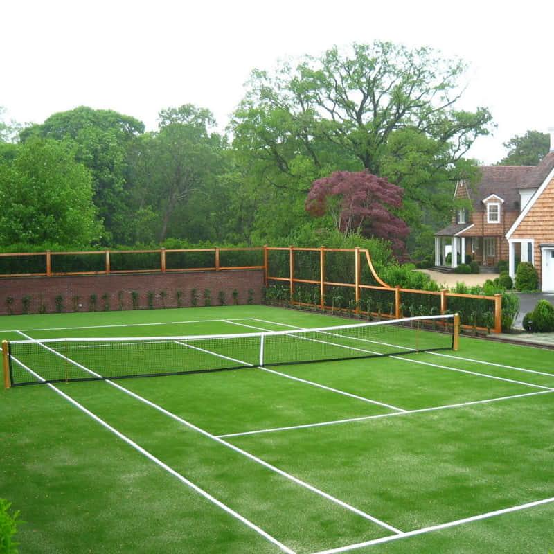 tennis artificial grass